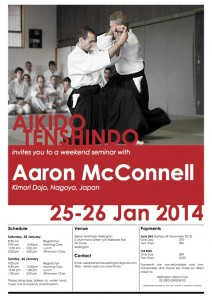 Seminar - Aaron  McConnell - Jan 2014