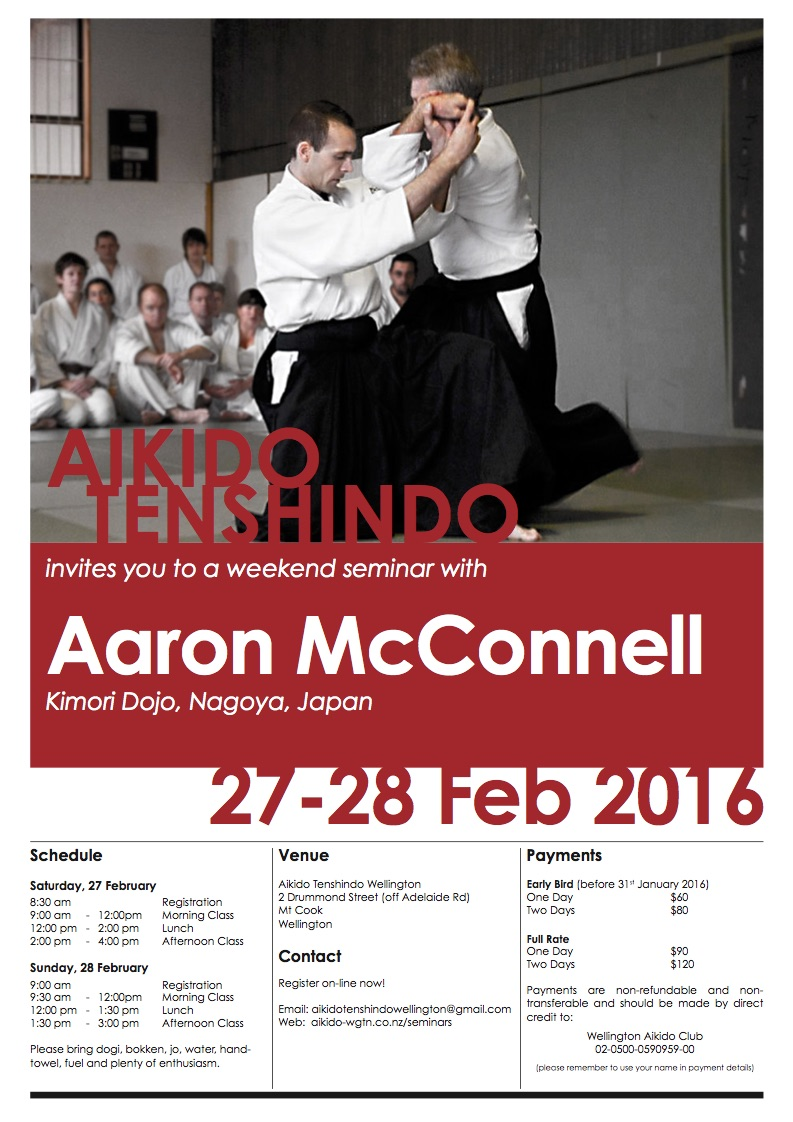 Aaron McConnell - Feb 2016
