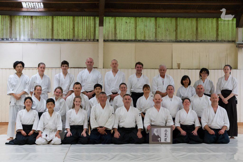 Aikido Tenshindo Wellington, November 2018 grading. Wellington, New Zealand. Photo by Silver Duck.